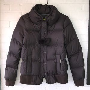 Juicy Couture Puffer Down Jacket Large